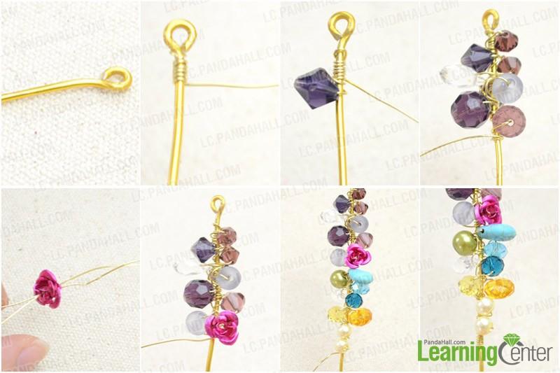 Step 1: Make cluster-beaded dangles