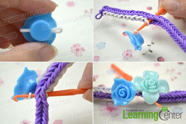 Making A Double Cross Loom Bracelet
