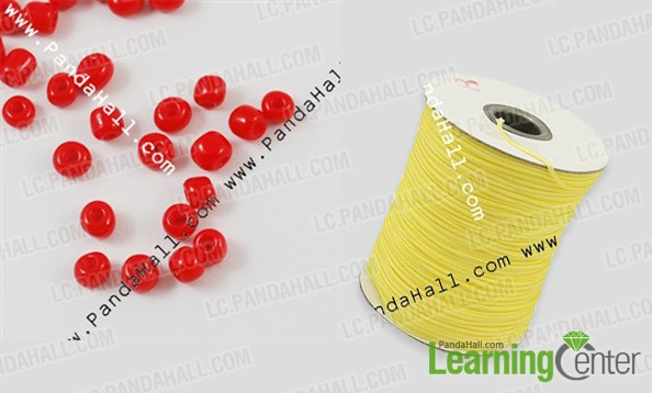 materials for making seed bead ring