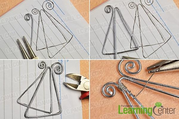 make the basic wire pattern