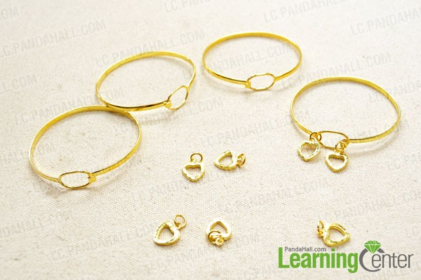 Remove the unnecessary pendant on bangles