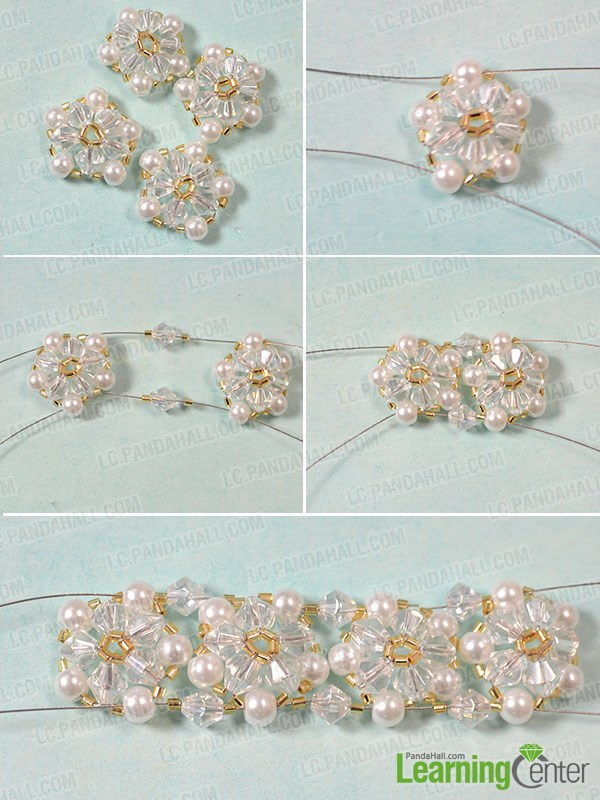 Bead Bracelet Designs to Make - How to Make a Beaded Flower ...