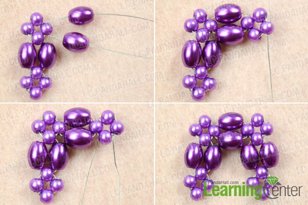 Make basic beaded pendant pattern