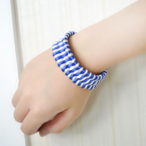 the final look of friendship bracelet for guys: