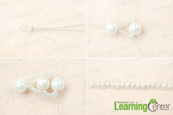 Make basic wedding choker necklace