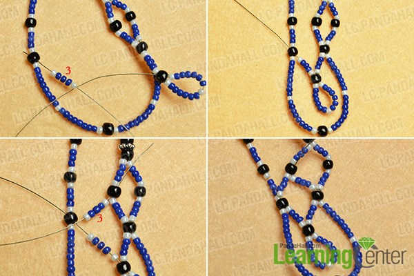 Continue to add more beads