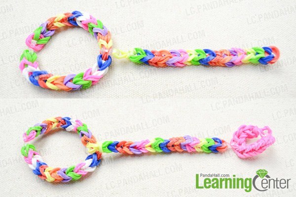 how to make rubber band bracelet with loom 320 低