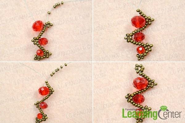 how to make simple bead earrings