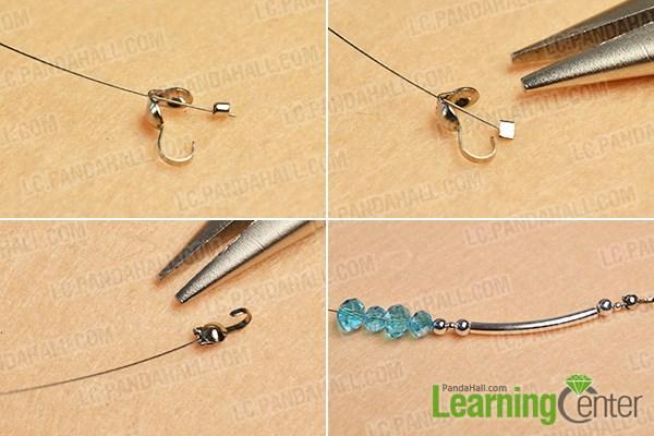Make the beginning pattern of each strand