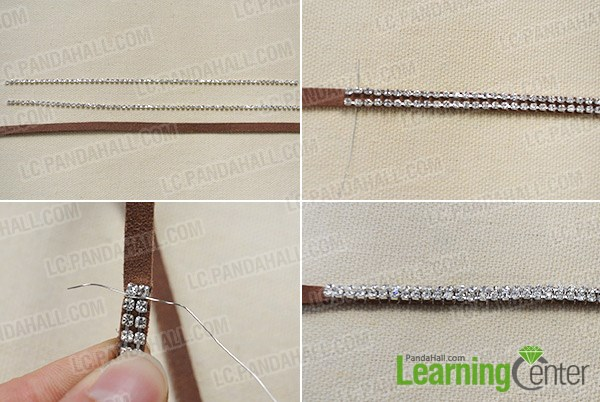 How to Make Cool Braided Chain Bracelet Tutorial 1