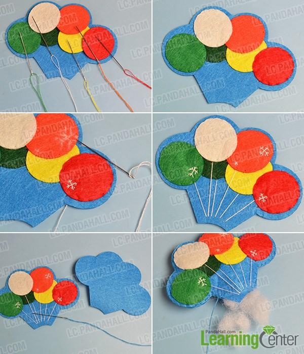Make a felt balloon