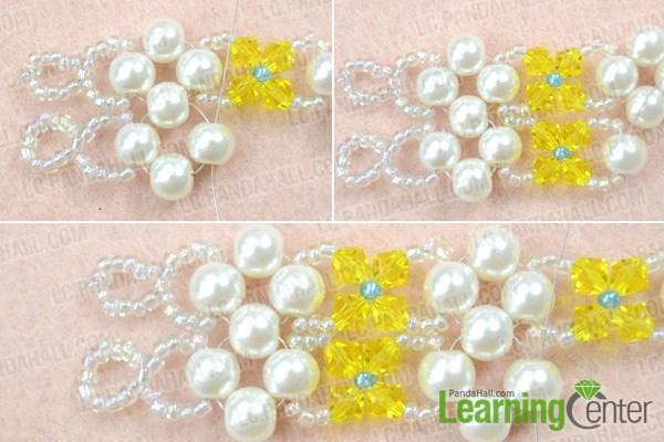 how to make crystal bracelet