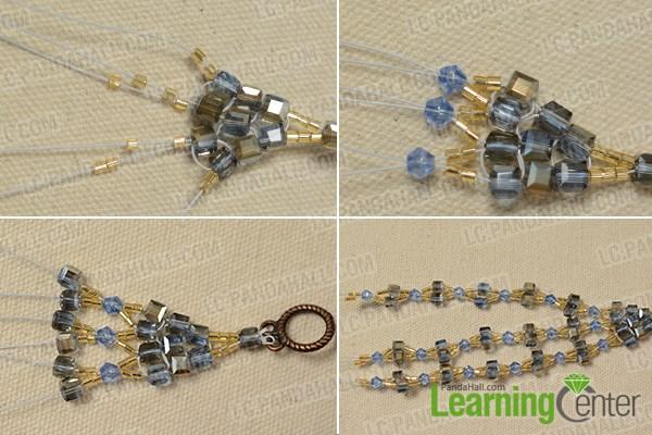 Bead the bangle bracelet pattern