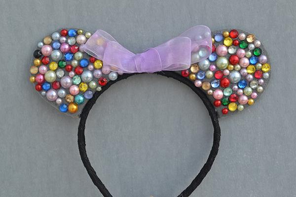 How to Make Easy Cute Handmade Beaded Mickey Headbands for Girls final