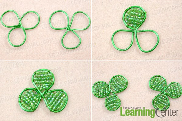 Make basic wire wrapped flower ring