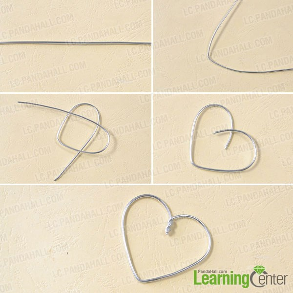 Wrapping a heart shape
