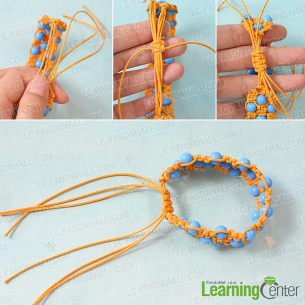 Make a sliding knots