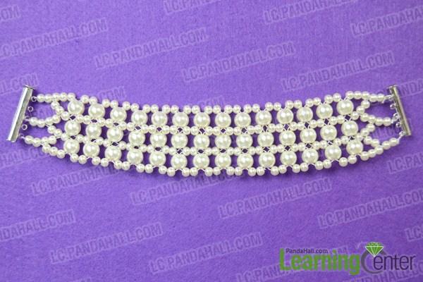 diy wedding bracelet