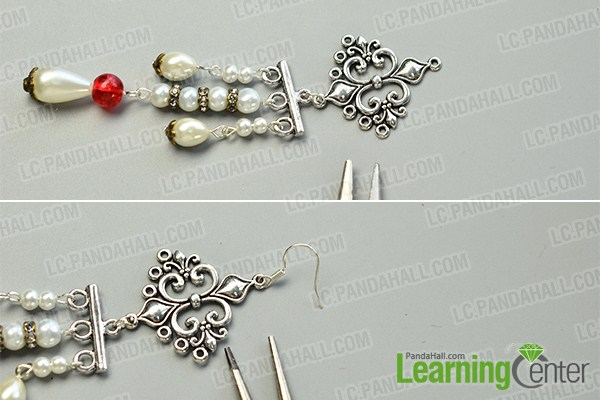 make the first part of the asymmetry vintage style drop earrings