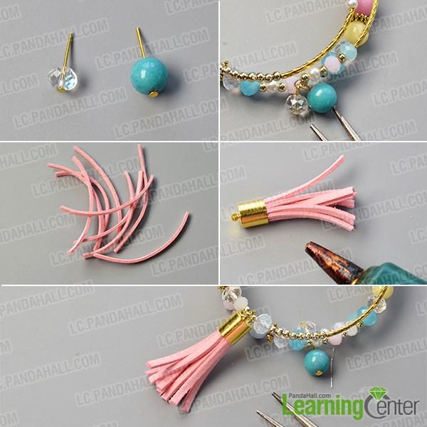 Complete this diy charm bracelet