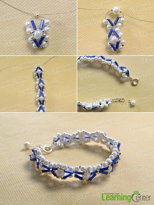 Finish the whole woven bracelet patterns