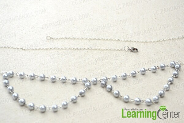 complement the pearl necklace
