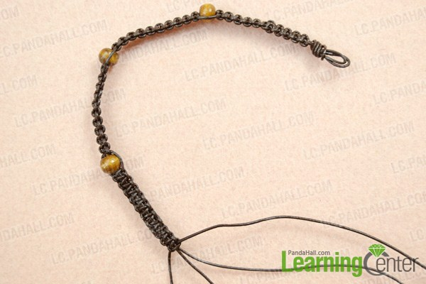make basic brown leather cord necklace