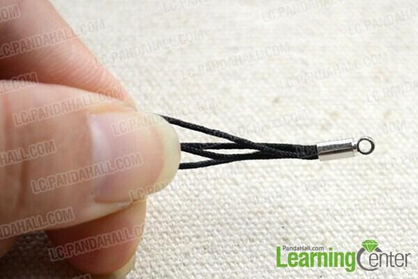 prepare nylon threads
