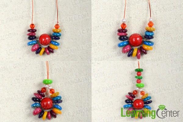 make basic Hawaiian shell earrings