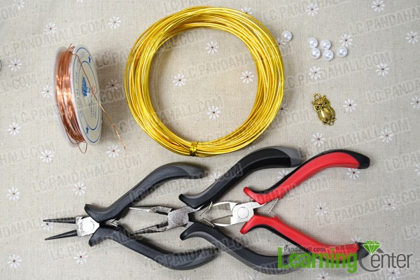 cr u00e9er un bracelet enroul u00e9 avec des perles de nacre