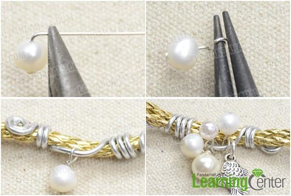 Step 2: add pearl bubbles
