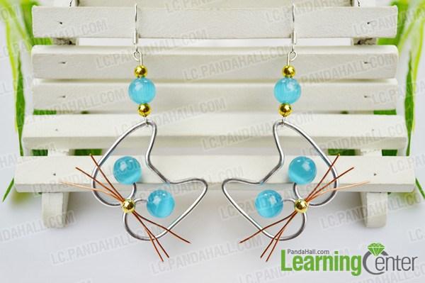 finish the cat eye jewelry