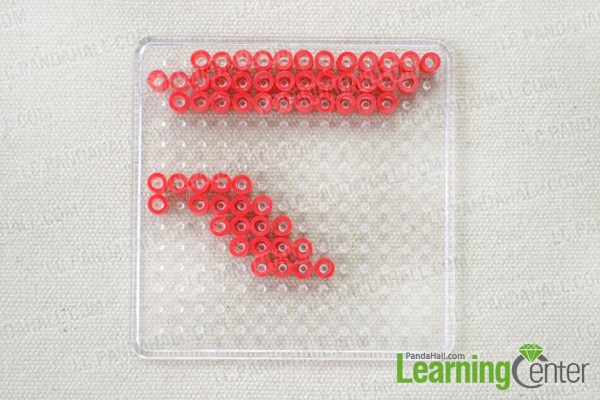 3D Perler Bead Ideas- How to Make Heart Perler Bead Glasses ...