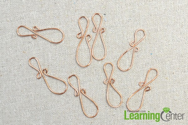 make all needed wire wrapped embellishments