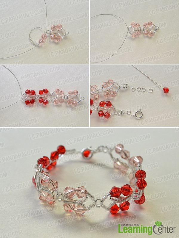 craft pandahall tutorials for to pinterest faceted with best how on pandahallelite make images idea crystal bracelet pandahallblog elite ideas beads making glass