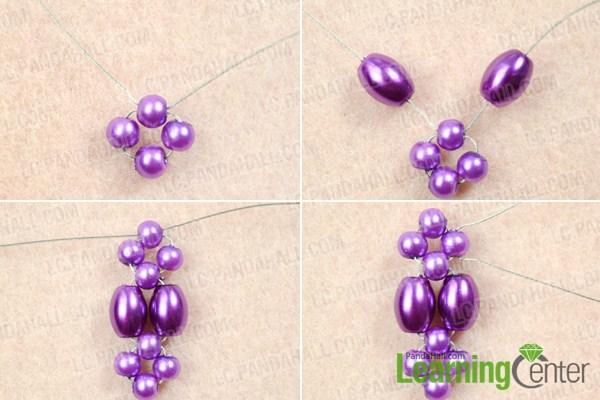 Instruction on making pearl pendant design