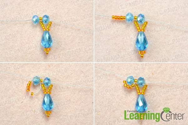 How to Make Beaded Flower Earrings Tutorial with Simple Beading ...