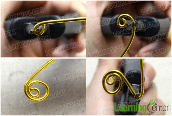 wrap wire for making this love ring