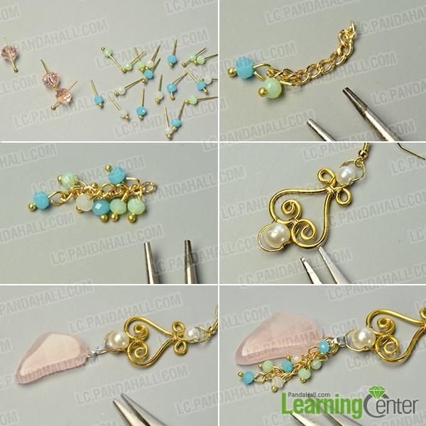 Make the bead dangles