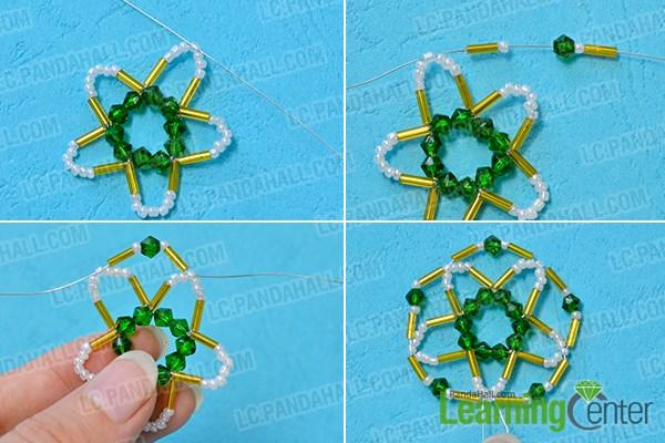 Add a circle fringe