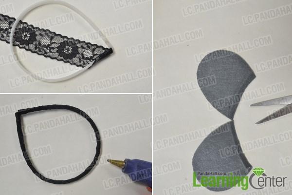 How to Make Easy Cute Handmade Beaded Mickey Headbands for Girls 1
