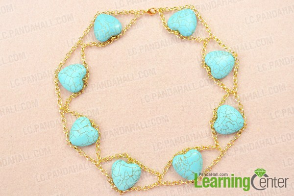 finish making your own chain necklace