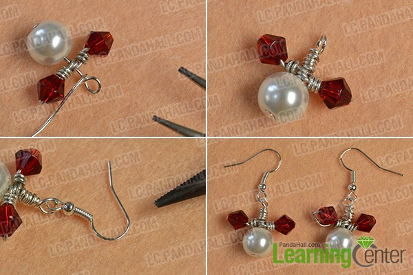 make the rest part of the easy mickey beaded drop earrings
