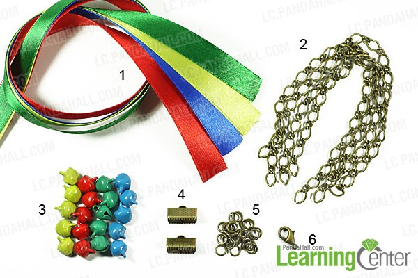 materials for making silk ribbon bracelet