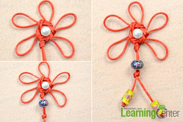 Finish traditional chinese knots