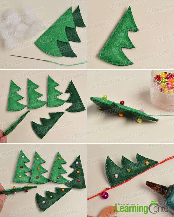 Make the Christmas tree pattern