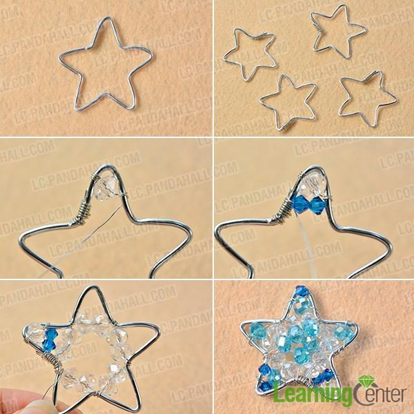 Make the stars ornaments