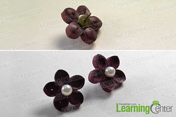 54e8e201d Pandahall Tutorial - How to Make a Pair of Beautiful Quilling Paper ...