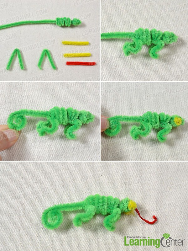 Add some parts to the lizard