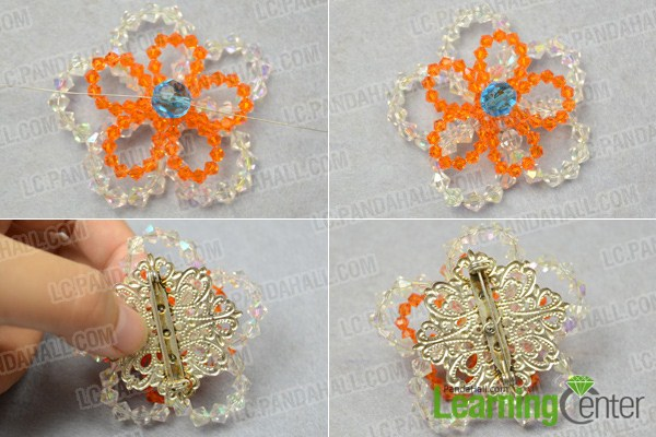 How To Make A Flower Brooch